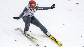 Skispringerin Katharina Althaus holte bei Olympia Silber © picture alliance